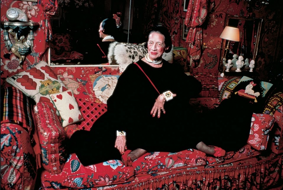 vreeland in black