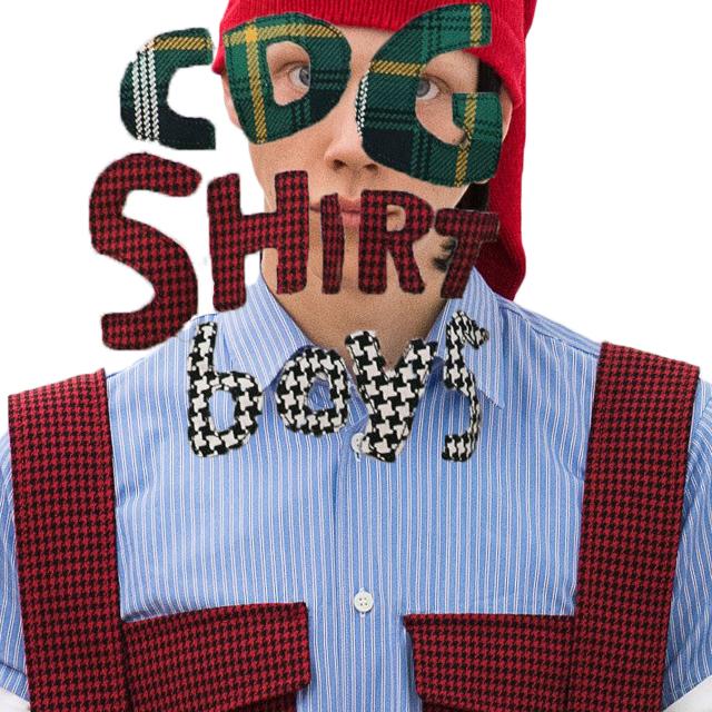 CDG SHIRT BOYS