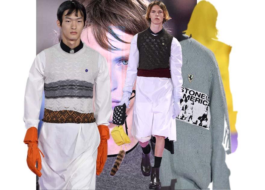 Raf Simons - Paris Menswear Spring Summer 2020 - Paris - June 2019